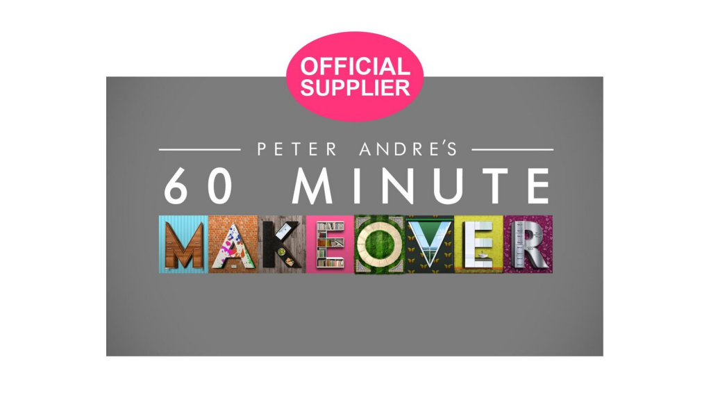 60 minute makeover tv show official supplier logo