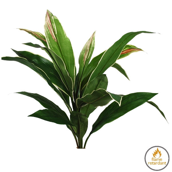 Artificial Cordyline flame retardant plant