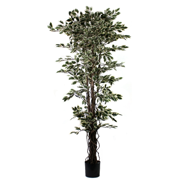Artificial Ficus Tree flame retardant plant