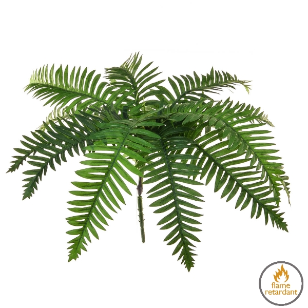 Artificial River Fern flame retardant foliage