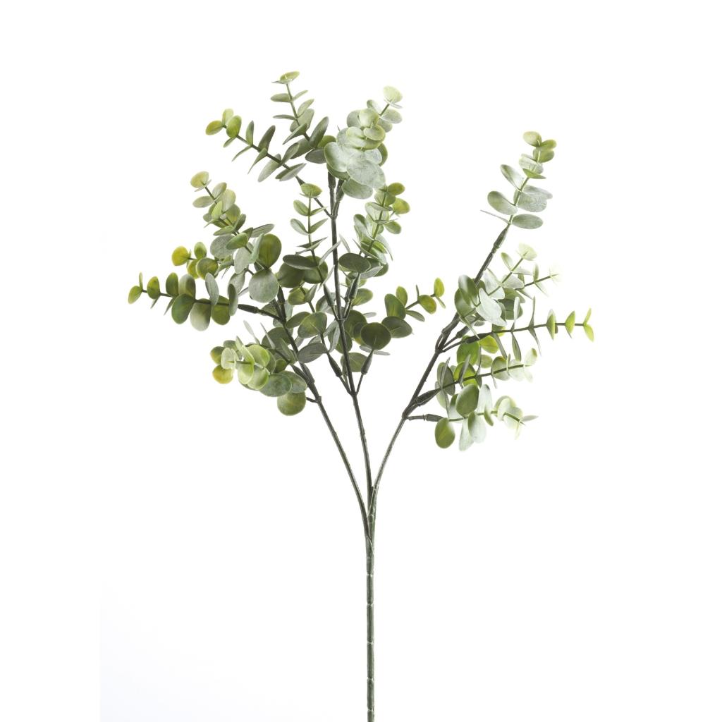 powder green artificial eucalyptus spray