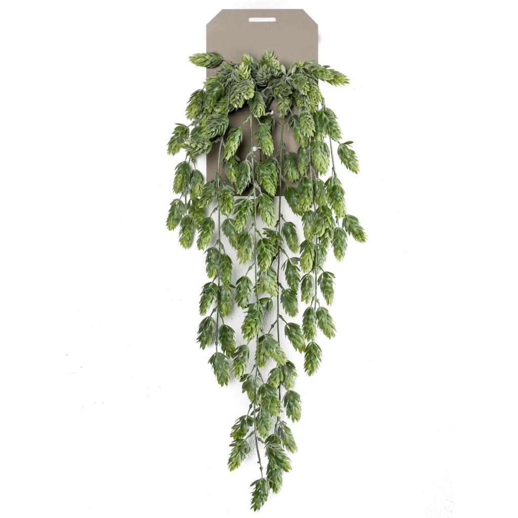 artificial hanging hop bush green