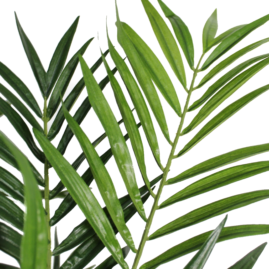 Artificial Parlour Palm Tree - leaves