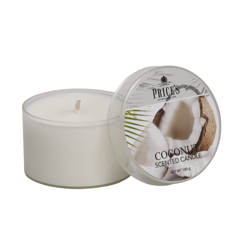 Prices Coconut Tin Candle