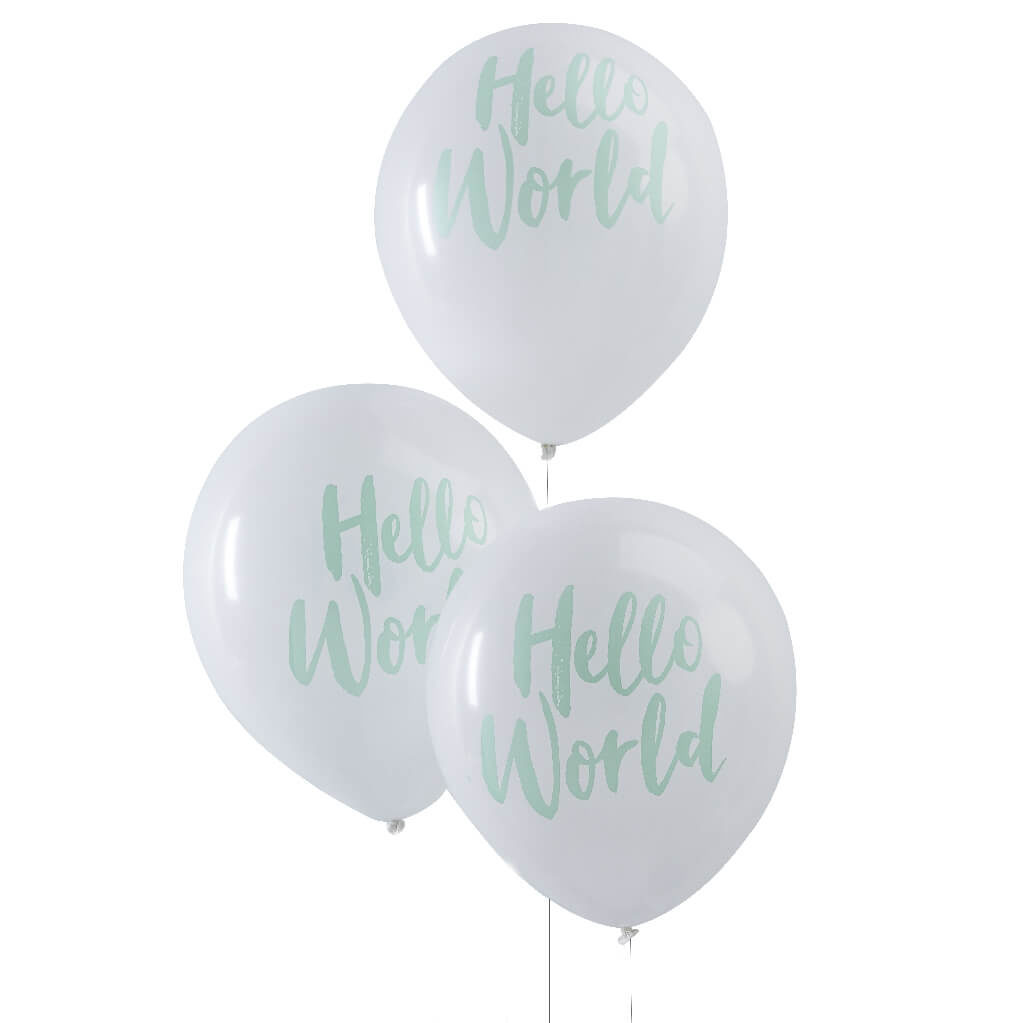 Hello World Balloons Pack