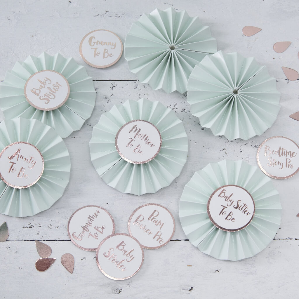 Baby Shower Badges For Guests