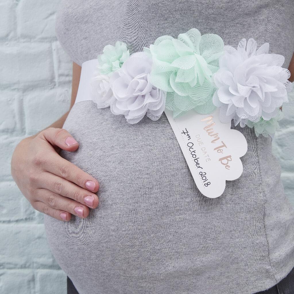 Baby Shower Sash for Mum to Be