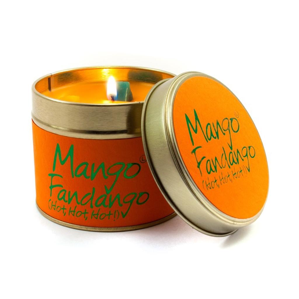 Lily Flame Mango Fandango Tin Candle