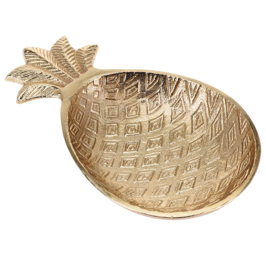 Pineapple Bowl Gold