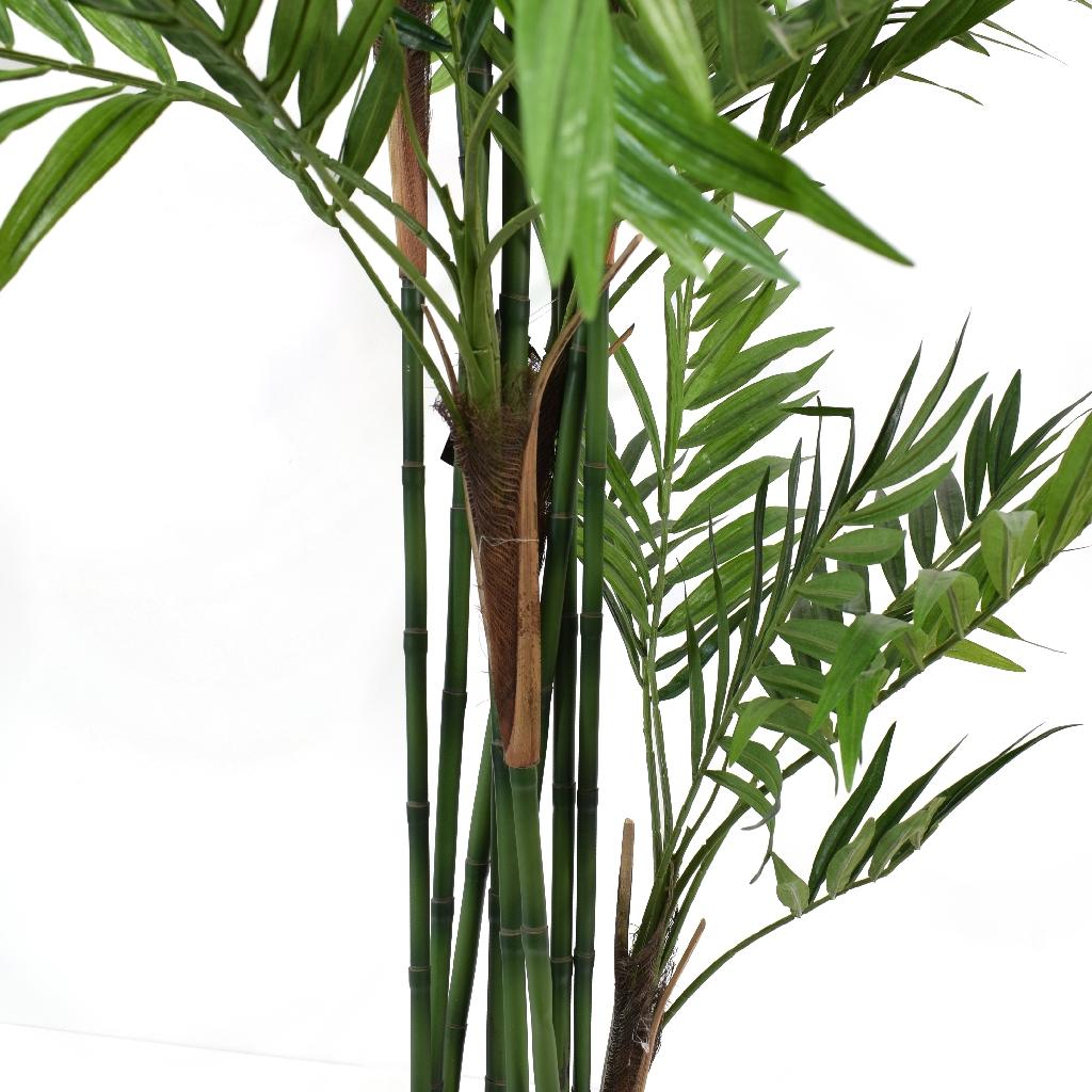 Artificial Parlour Palm Tree - close up