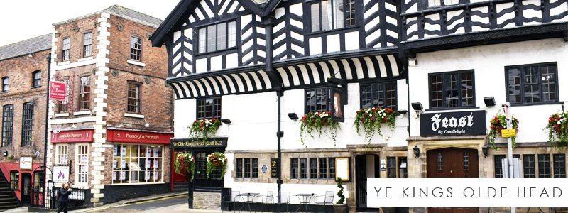 Ye Olde Kings Head - Artificial Hanging Baskets commercial project
