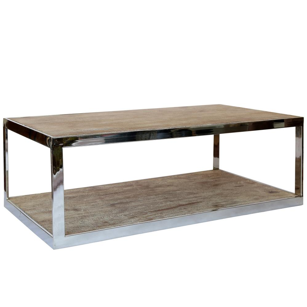 industrial style interior - St Lucia 2 Tier Coffee Table by Olore Home