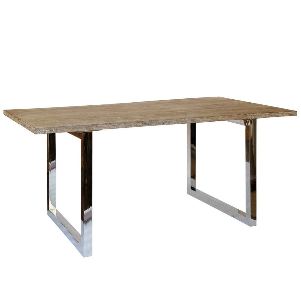 industrial look interior - St Lucia Dining Table by Olore Home