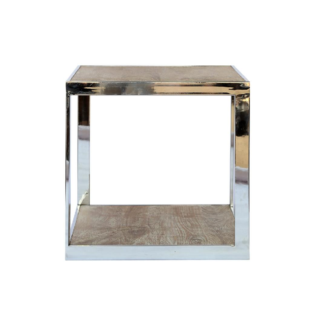 industrial look interiors - St Lucia Lamp Table by Olore Home