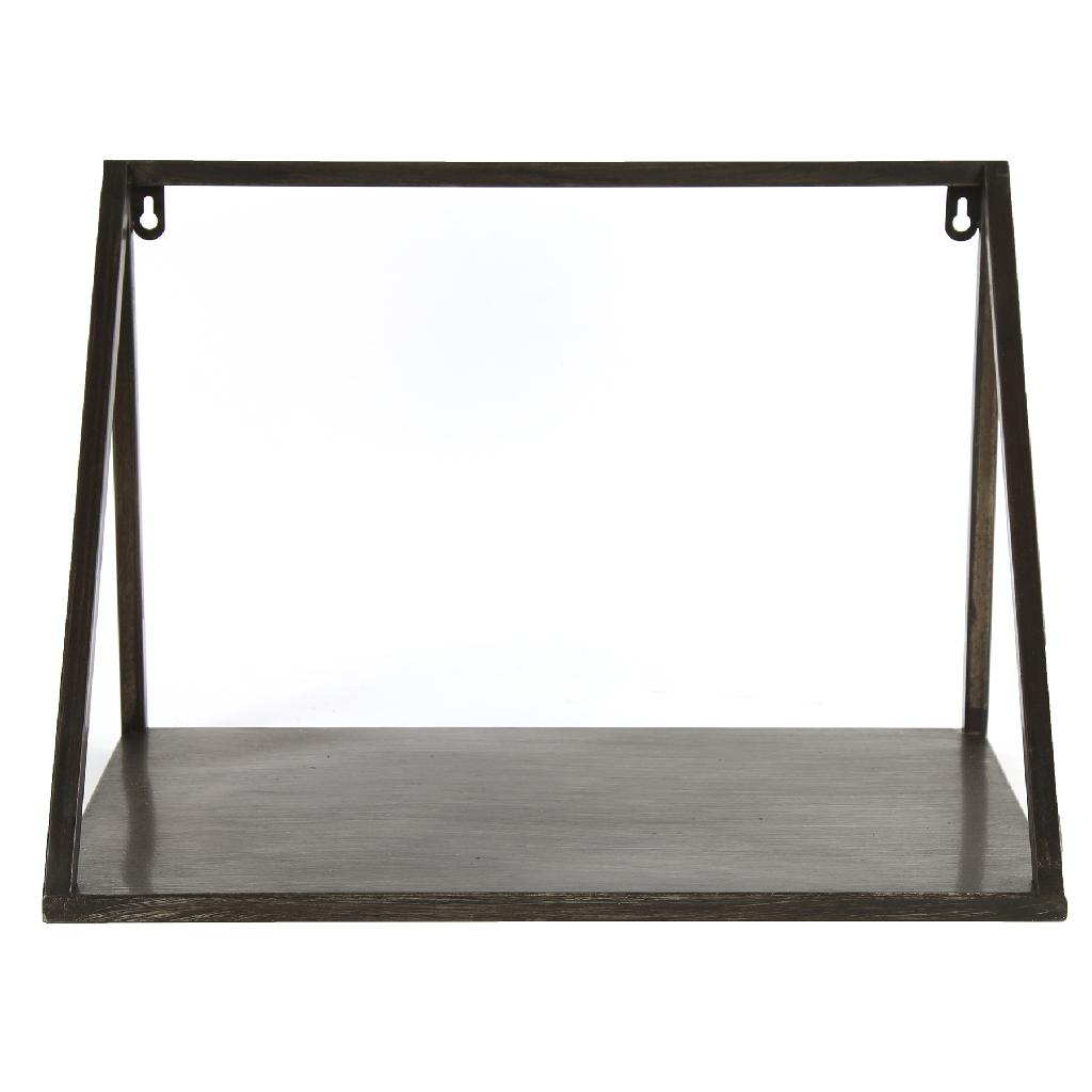 industrial style - Wall Shelf Black