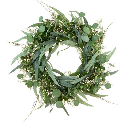 Helmsley foliage artificial wreath - an good starting point for an autumn wreath