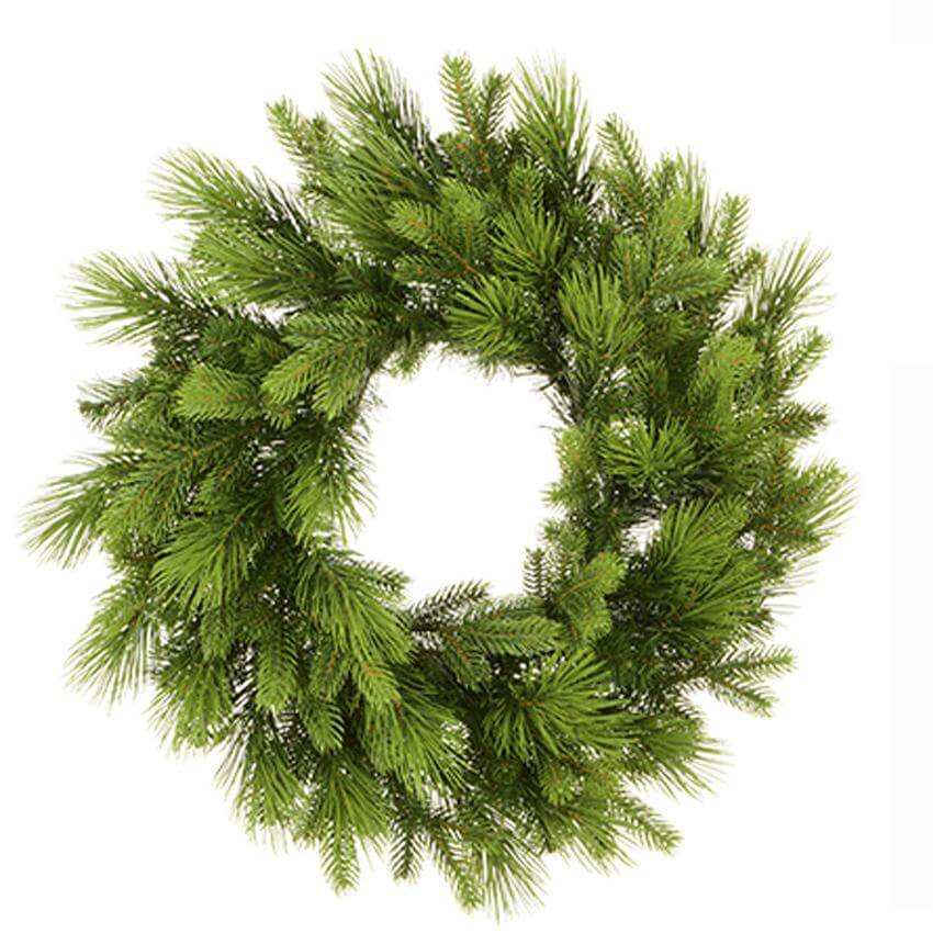 super pine christmas wreath green 60cm