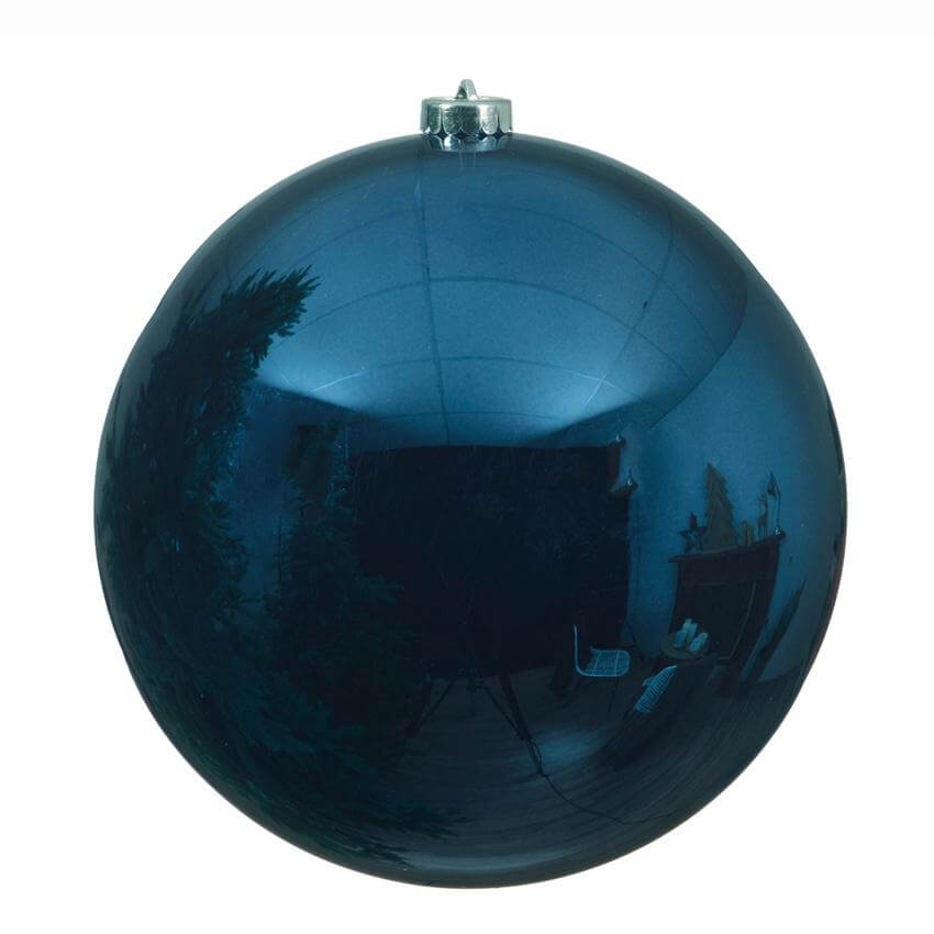 shatterproof night blue bauble - blue christmas theme