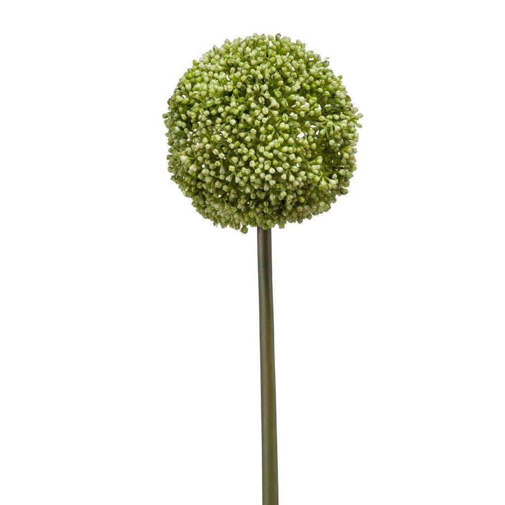 artificial allum stem green - soft neutrals floral trend 2020
