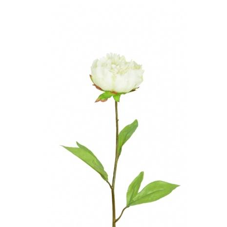 artificial peony stem - soft neutral floral trend 2020