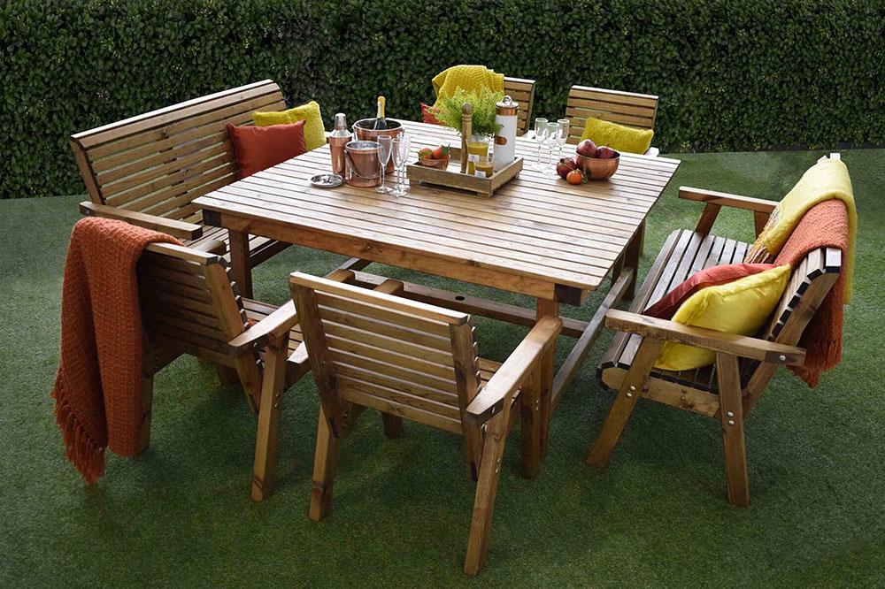 Rustic Outdoor Dining Area Ideas, Rustic Outdoor Furniture Ideas