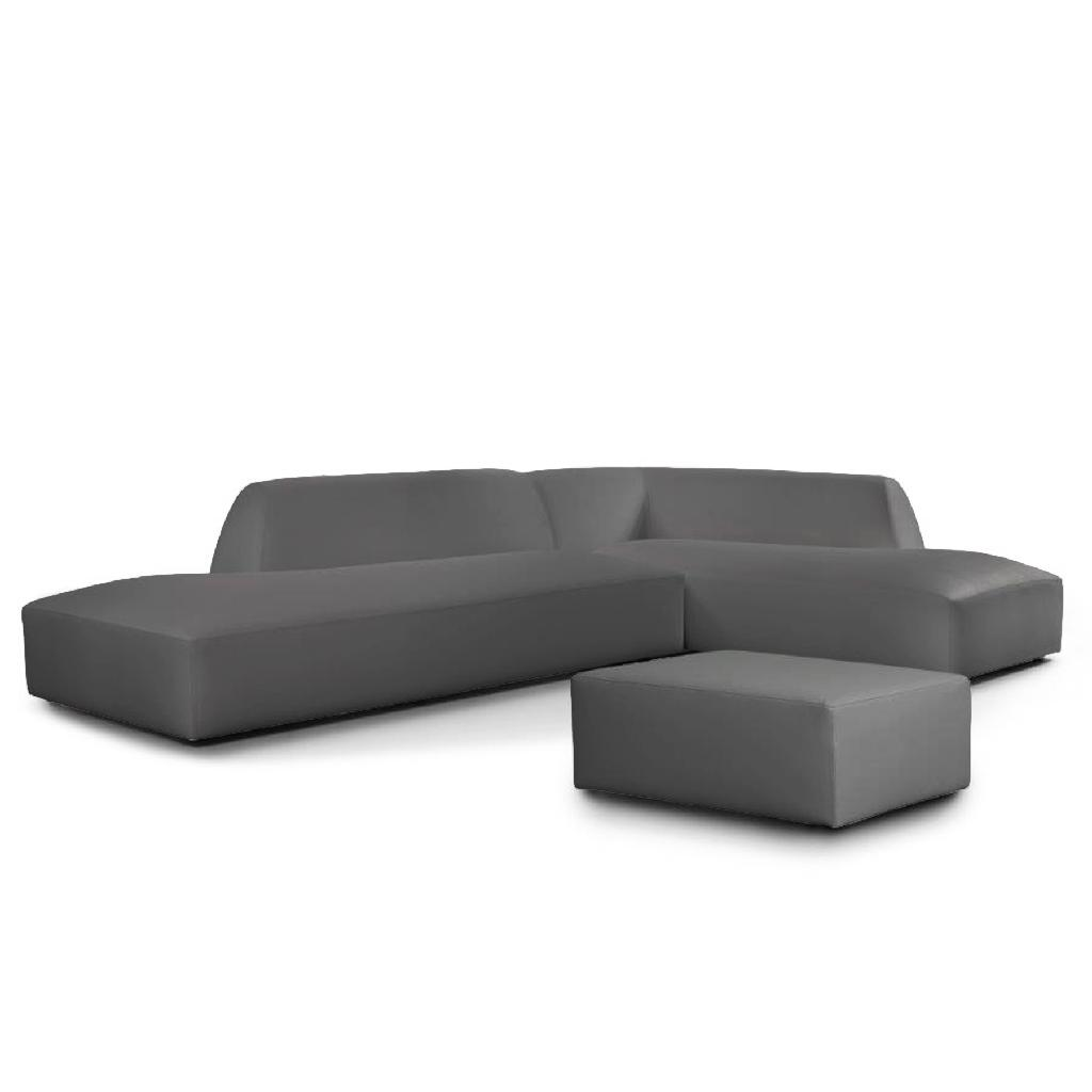 cologne - cosi sofa chaise lounge and stool for outside