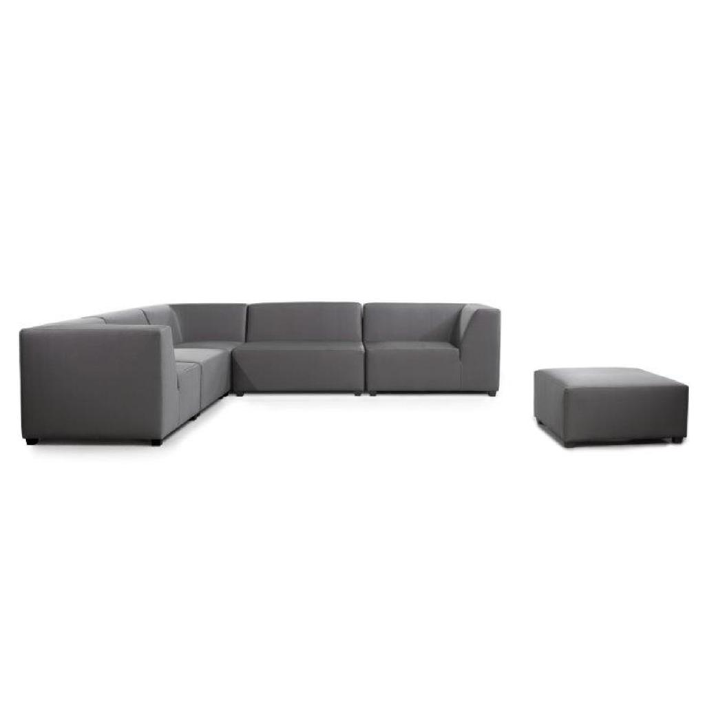 copenhagen outdoor corner sofa in grey from cosi