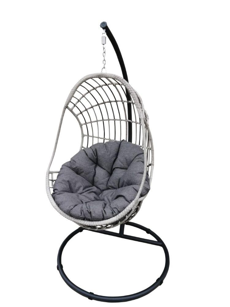 outdoor hanging egg chair garden seating