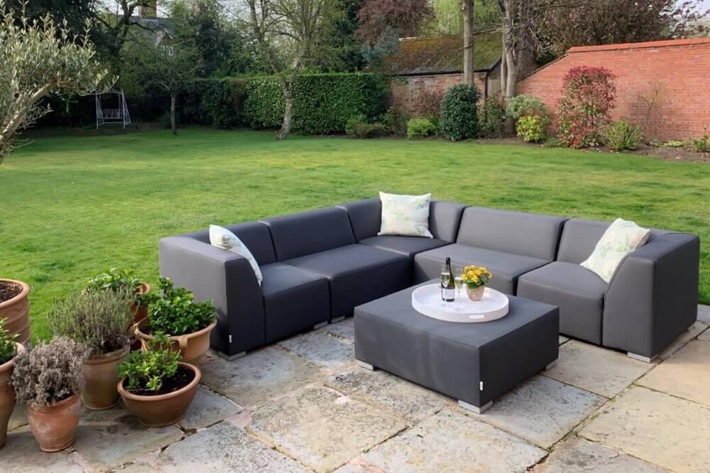 weatherproof waterproof outdoor sofa