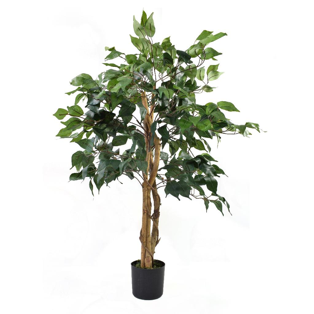 Artificial Ficus Tree Green 3ft Indoor Artificial Tree By Olore