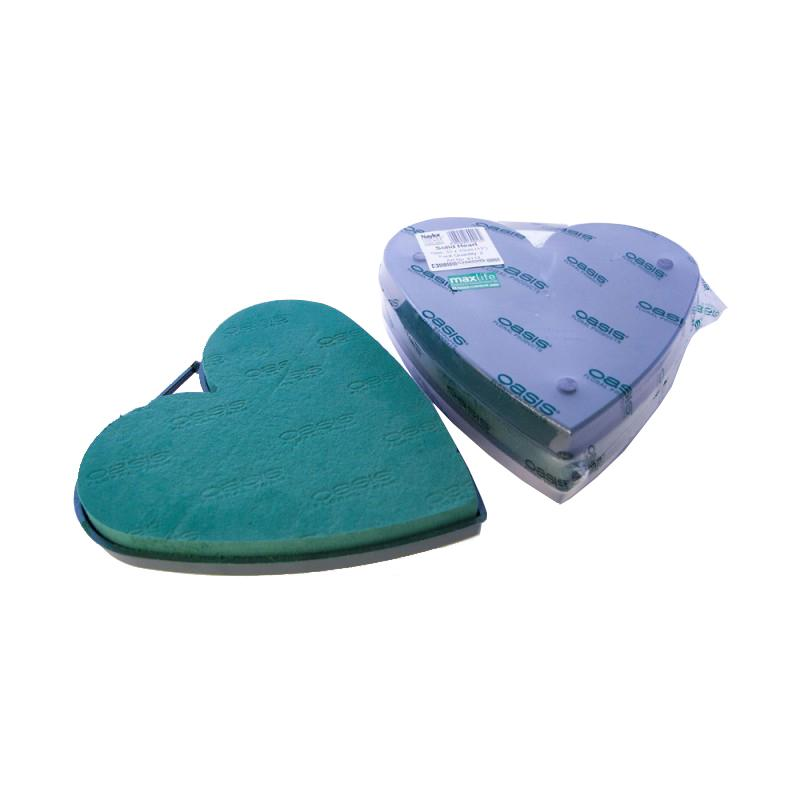 Oasis Naylor Base Floral Foam Solid Heart 33cm 13 Inch Pack Of 2 9 75 Inspirations Wholesale 33 cm to in conversion. inspirations wholesale