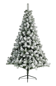 Snowy Imperial Flocked Christmas Tree