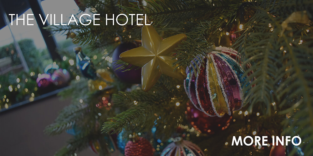 Village Hotel - commerical christmas decorating service