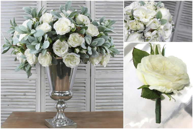 Artificial Flower Arrangements For Weddings - Inspirations Wholesale