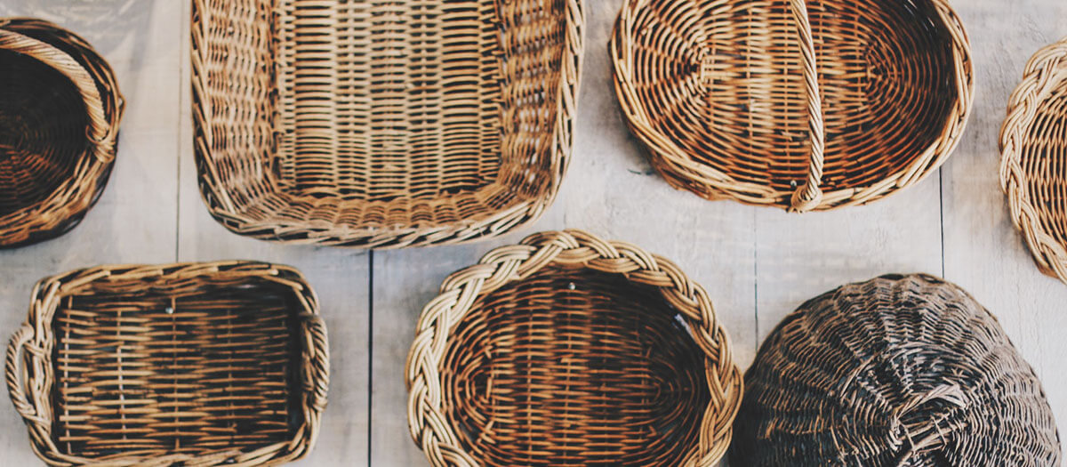 How to Use Baskets For Storage